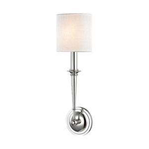 Lourdes Polished Nickel 5-Inch One-Light Wall Sconce