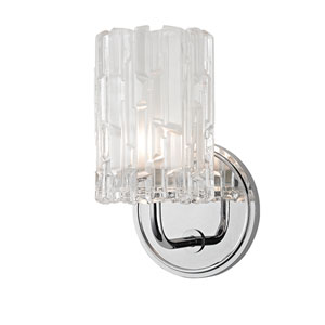 Dexter Polished Chrome One-Light Vanity Fixture