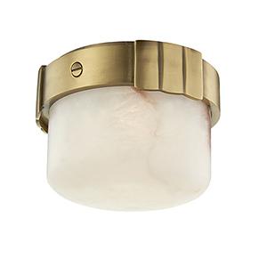 Beckett Aged Brass LED 6-Inch Flush Mount