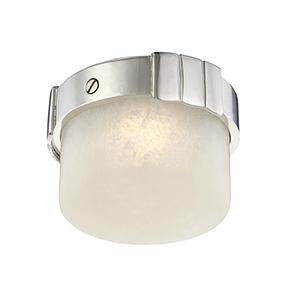 Beckett Polished Nickel LED 6-Inch Flush Mount