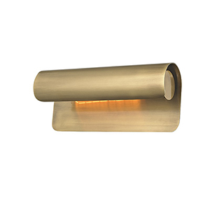 Accord Aged Brass 1-Light 5.5-Inch Wall Sconce