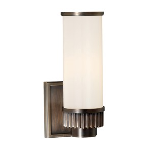 Harper Distressed Bronze One-Light Wall Sconce