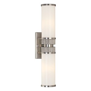 Harper Polished Nickel Two-Light Wall Sconce