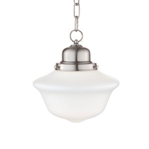 Edison Satin Nickel Pendant