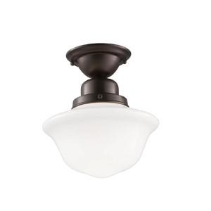 Edison Semi Flush Light Fixture
