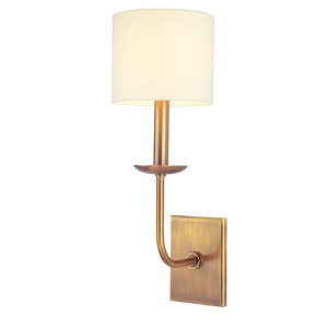 Kings Point Aged Brass Wall Sconce