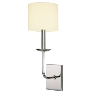 Kings Point Polished Nickel Wall Sconce