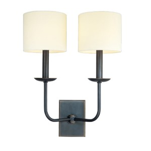 Kings Point Old Bronze Two-Light Wall Sconce