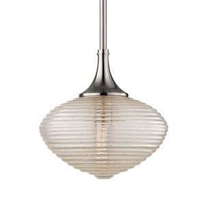 Knox Satin Nickel One-Light Pendant