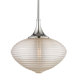 Knox Polished Nickel One-Light Pendant