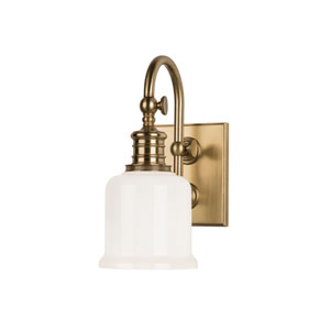 Keswick Aged Brass One-Light Wall Sconce