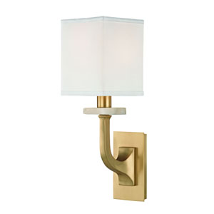 Rockwell Aged Brass One-Light Wall Sconce