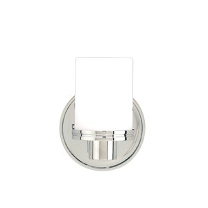 Southport Polished Chrome One-Light Wall Sconce