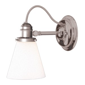 Adjustable Wall Sconce Satin Nickel