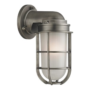 Carson Antique Nickel One-Light Wall Sconce