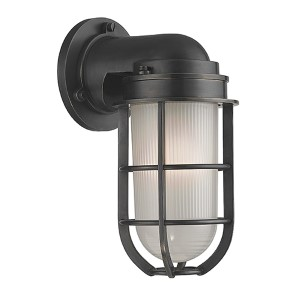 Carson Old Bronze One-Light Wall Sconce