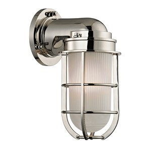 Carson Polished Nickel One-Light Wall Sconce