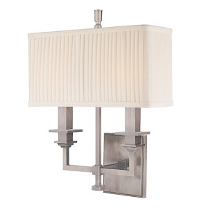 Berwick Antique Nickel Two-Light Wall Sconce