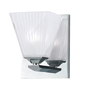 Hammond Polished Chrome One-Light Bath Light Fixture