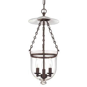 Hampton Old Bronze Lantern Mini Pendant