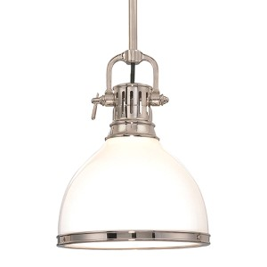 Randolph Polished Nickel Large Pendant