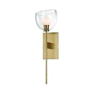 Davis Aged Brass LED Wall Sconce
