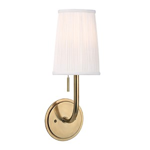 Sanford Aged Brass One-Light Wall Sconce