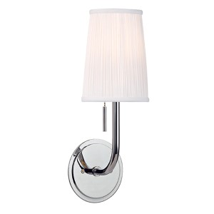 Sanford Polished Chrome One-Light Wall Sconce