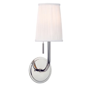 Sanford Polished Nickel One-Light Wall Sconce