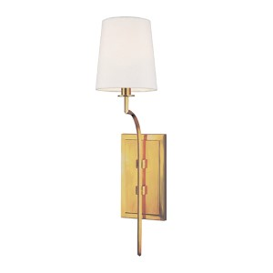 Glenford Aged Brass Wall Sconce