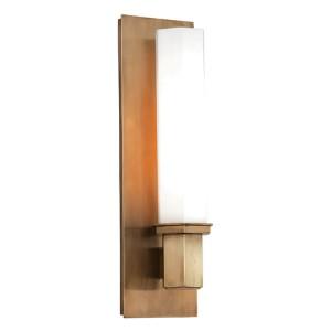 Walton Aged Brass One-Light Sconce