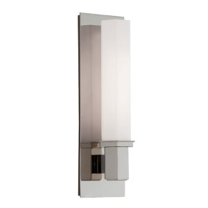 Walton Polished Nickel One-Light Sconce