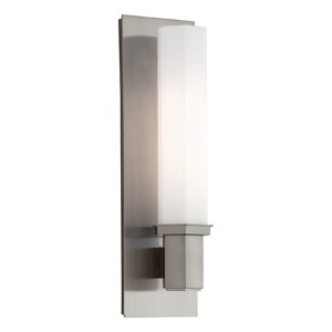 Walton Satin Nickel One-Light Sconce