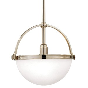 Stratford Polished Nickel Mini Pendant