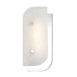 Yin and Yang Polished Nickel LED 5.5-Inch Wall Sconce