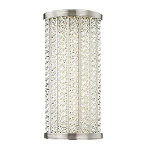 Shelby Polished Nickel LED 6.5-Inch Bath Light