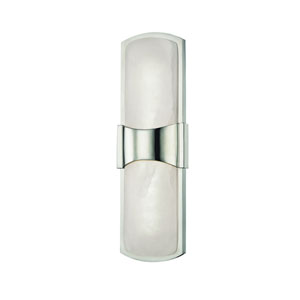 Valencia Polished Nickel LED Wall Sconce
