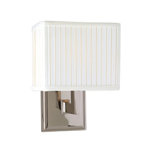 Waverly One-Light Polished Nickel Sconce