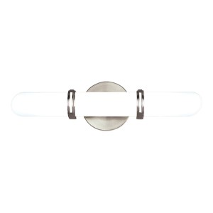 Brighton Polished Chrome Two-Light Bath Fixture