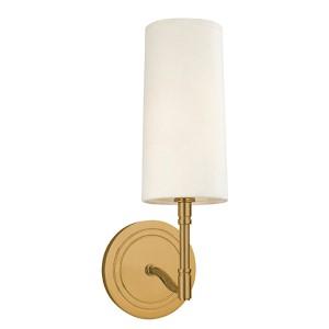 Dillion Aged Brass One-Light Sconce