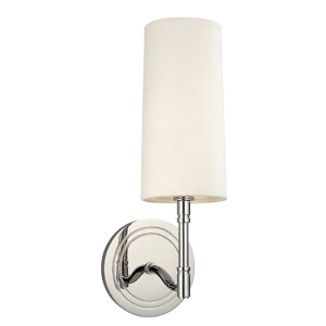 Dillion Polished Nickel One-Light Wall Sconce