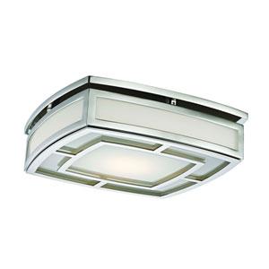 Elmore Polished Nickel 13-Inch LED Flush Mount