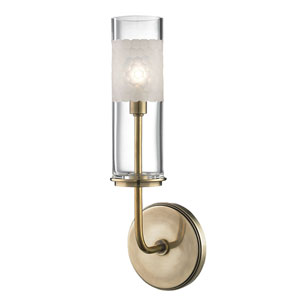 Wentworth Aged Brass One-Light Wall Sconce