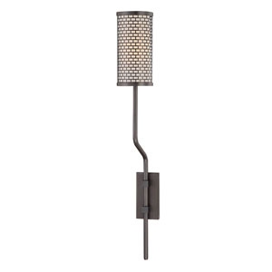 Hugo Old Bronze 3-Inch One-Light Wall Sconce