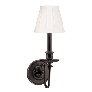 Menlo Park One-Light Old Bronze Sconce
