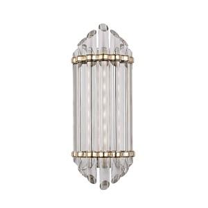 Albion Aged Brass LED Energy Star Eight-Light Bath Vanity