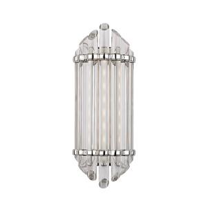 Albion Polished Nickel LED Eight-Light Bath Vanity
