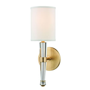 Volta Aged Brass One-Light Wall Sconce