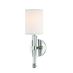 Volta Polished Nickel One-Light Wall Sconce