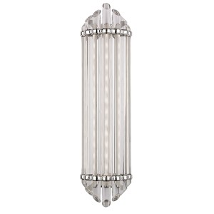 Albion Polished Nickel LED 14-Light Bath Vanity